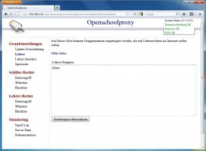 Open School Proxy Screenshot